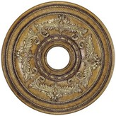 Livex Lighting Ceiling Medallion in Venetian Patina Size: Small
