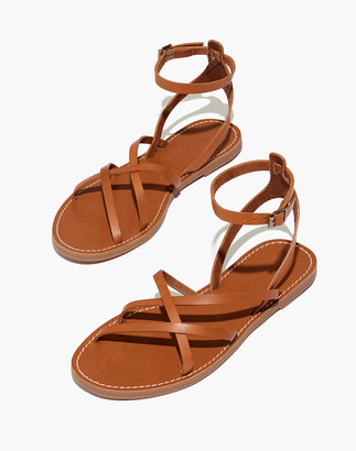 Madewell The Boardwalk Skinny-Strap Sandal