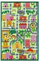nuLoom Kinderloom City Neighborhood Printed Rug