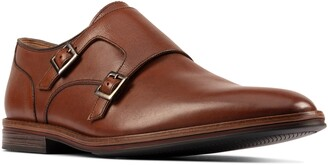 Clarks Citi Stride Double Monk Strap Shoe