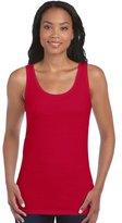 Gildan Womens Soft Style Tank Top Vest tshirt