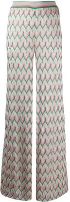 Missoni Knit Wide Leg Trousers