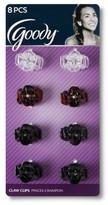 Goody Classics Mini Golden Tort Octo Claw Clips - 8 ct