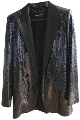 Barbara Bui Blue Glitter Jackets