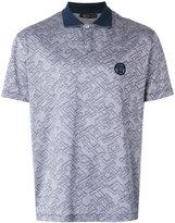 Versace patterned polo shirt - men - Cotton - M