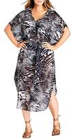 City Chic Sahara Caftan Dress