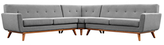 Modway Engage L-Shaped Sectional Sofa Set (3 PC)