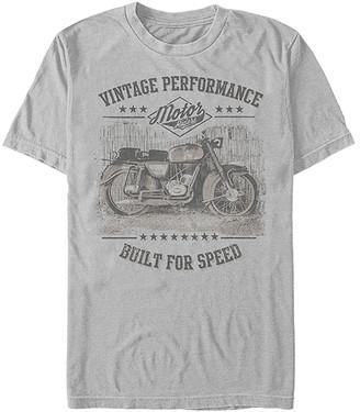 Fifth Sun Men's Tee Shirts SILVER - Silver 'Vintage Performance' Crewneck Tee - Men