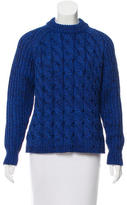 Proenza Schouler Silk Cable Knit Sweater w/ Tags