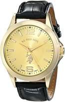 U.S. Polo Assn. Classic Men's USC50194 Analog Display Analog Quartz Black Watch