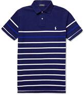 Polo Ralph Lauren Striped Cotton-Piqué Polo Shirt