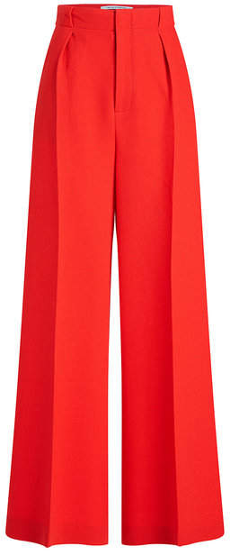 Roland Mouret Broadgate Cropped Wool Pants