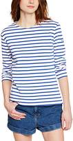 Armor Lux 04277,Women's Striped Long Sleeve T-Shirt ,