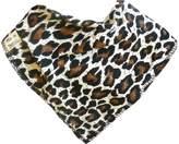 It's a Bibble Single Baby Bandana Dribble Bib 100% Cotton with Fleece Lining, M - Jungle Fever