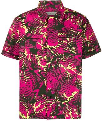 Billionaire Boys Club Fish Camouflage print shirt