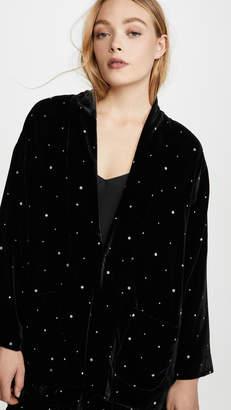 Forte Forte Glitter Velvet Kimono Jacket