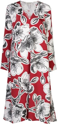 Stine Goya Floral-Print Silk Dress