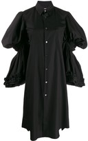 Comme des Garcons tiered-sleeve shirt dress