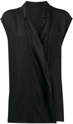 Haider Ackermann Wrap Front Shirt