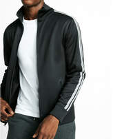 Express stripe track jacket