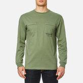 Maharishi Long Sleeve Tshirt Militaire Couvert - Patina