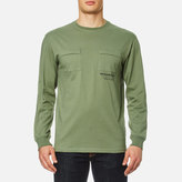 MHI Men's Long Sleeve TShirt Militaire Couvert - Patina