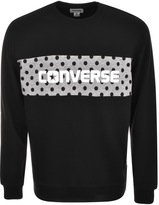 Converse Colour Block Sweatshirt Black