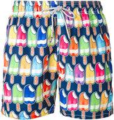 MC2 Saint Barth printed swim shorts