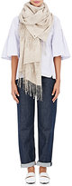 From The Road Women's Turi Cashmere-Cotton Flannel Scarf
