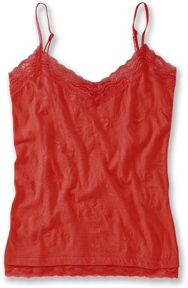 Joe Browns Women's Camisole Vest top with lace Trim (10) Red