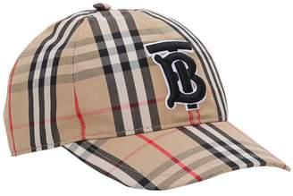 Burberry Trucker Tb Baseball Cap