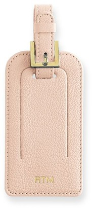 Mark And Graham Leather Luggage Tag