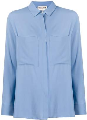 Semi-Couture Semicouture patch pocket blouse