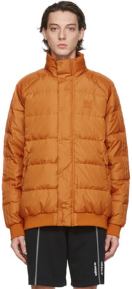 adidas Orange Jonah Hill Edition Down Puffer Jacket