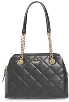 Kate Spade 'Emerson Place - Dewy' Quilted Satchel - Black