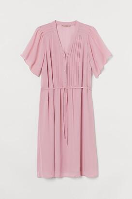 H&M H&M+ Pin-tuck Dress