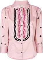 Temperley London Poppy Field shirt - women - Cotton - 10