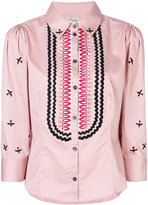 Temperley London Poppy Field shirt - women - Cotton - 8