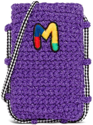 M Missoni I-phone Holder In Jersey