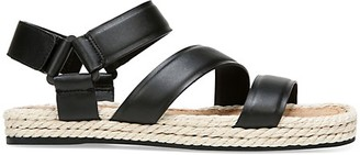 Vince Elian Leather Espadrille Sport Sandals