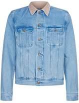 A.p.c. Denim Corduroy Collared Jacket