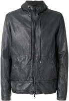 Giorgio Brato front pocket hooded jacket