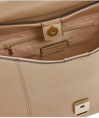 Accessorize Mini Hailey Satchel - Nude