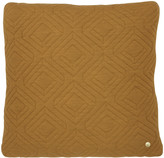 ferm LIVING Quilted Cushion - 45x45cm - Curry