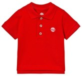 Timberland Classic Red Branded Polo Shirt