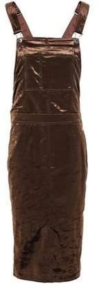 Brunello Cucinelli Crushed-velvet Dress