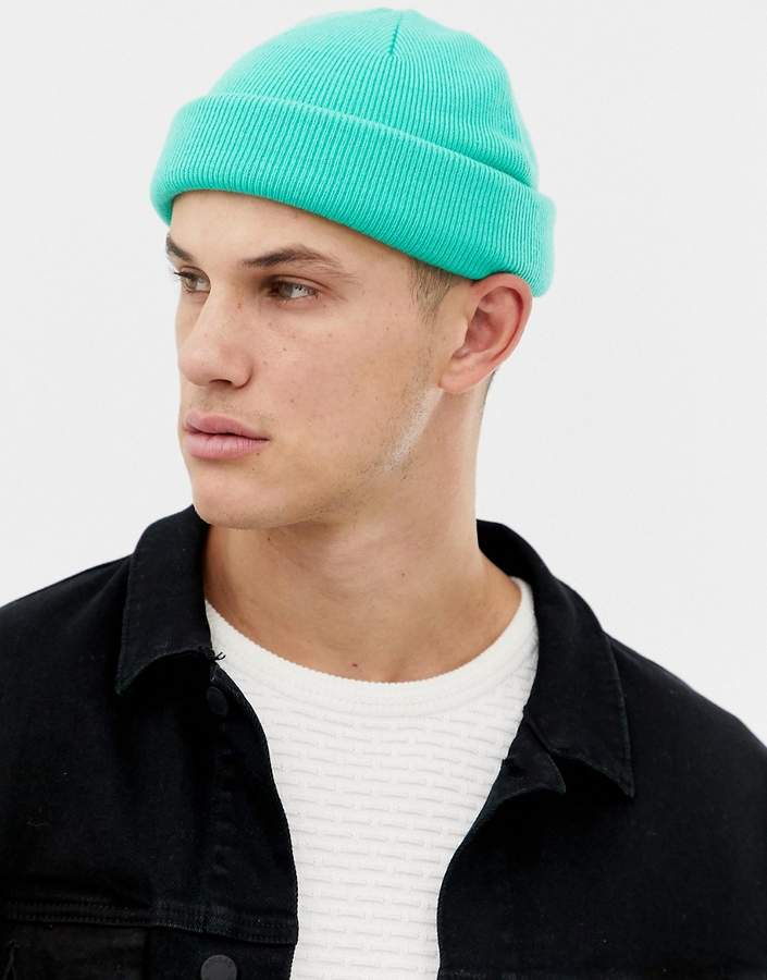 0fc48b1fb Design DESIGN mini fisherman beanie in green