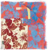 Stella McCartney Hibiscus print scarf