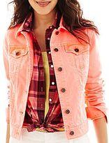 JCPenney jcpTM Color Denim Jacket