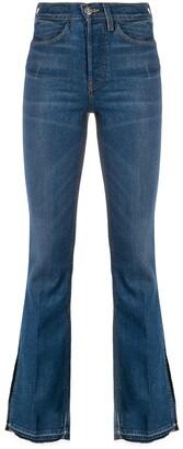 3x1 High Rise Flared Leg Jeans